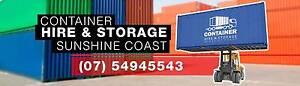 CONTAINER HIRE & STORAGE SUNSHINE COAST Landsborough Caloundra Area Preview