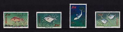 China (Taiwan) - 1965 Fish - U/M - SG 554-7