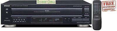 Teac PD-D2610MKII 5-Disc Carousel CD Player Changer Remote CD,CD-R/RW, MP3 disc