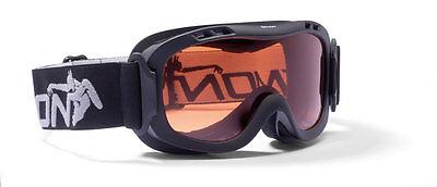 DMN Magic Single junior black Skibrille Snowboardbrille
