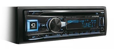 Alpine CDE-193BT Car CD Stereo USB Aux in Bluetooth iPod iPhone FLAC...