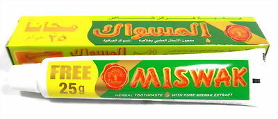 Zahnpasta Dabur Al Miswak 75gr Siwak *Takschita kaftan burka Hijab islam muslim*