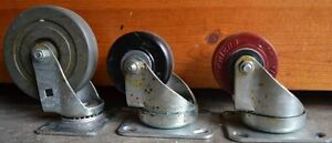 Caster wheels for sale. 4 for $25