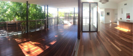 Decks sanding and Recoating