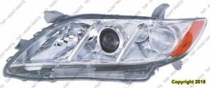 Head Light Driver Side Le/Xle Usa Built High Quality Toyota Camry 2007-2009