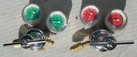 2 - OXWELD REGULATORS , OXYGEN- ACETYLENE & PROPANE USE