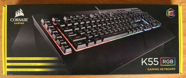Corsair K55 RGB Gaming keyboard - £3 p&p | in Stoke-on-Trent, Staffordshire  | Gumtree