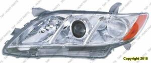 Head Light Driver Side Le/Xle Usa Built Toyota Camry 2007-2009