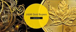 A&M Gold Buyers - Cash or Loan for Gold Best Prices - AJAX
