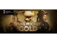 Women's hockey world cup tickets x 2, 22nd July
