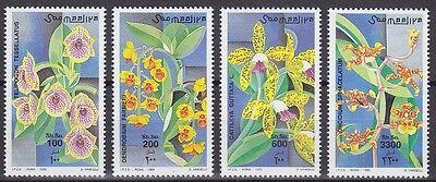 Somalia 1999 Mi.Nr. 735-38 ** Orchideen Blumen Flowers