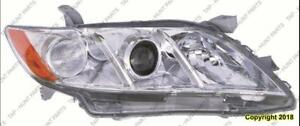 Head Lamp Passenger Side Le/Xle Use Built High Quality Toyota Camry 2007-2009