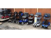 Good Selection of Travel Mobility Scooters for sale...