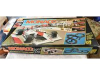 TYCO RACING MONACO GRAND PRIX RACING CARS TRACK