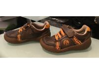 Clarks Brown Stompo Shoes Size 7f