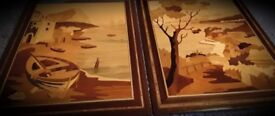 Handmade Italian Marquetry Pictures