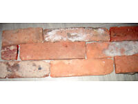 Brick Wall Slips /Tiles - Authentic brick wall 1.5metres square