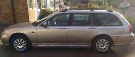 Rover 75 V6 2.5L Connoisseur Estate, 86505 miles, MoT August 2018
