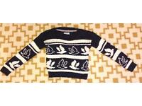Soul Cal cropped jumper size 8