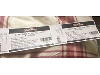 2x saturday slam dunk tickets