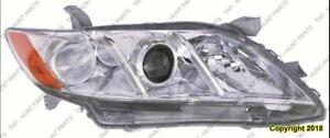 Head Light Passenger Side Le/Xle Usa Built Toyota Camry 2007-2009