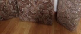 Caravan upholstered seating cushions