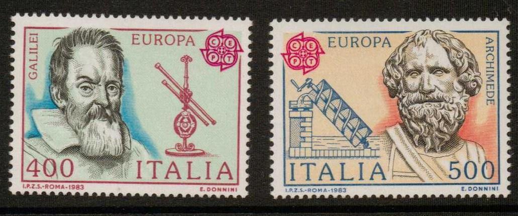 ITALY SG1800/1 1983 EUROPA  MNH