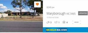 THREE BEDROOM HOME ON A BIG BLOCK Maryborough Central Goldfields Preview
