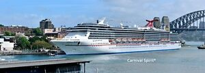 Carnival 7 day SthPacific Cruise 4 tickets 7th April 2017. Blacktown Blacktown Area Preview