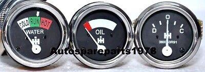 Farmall Ih Gauge Set Amp Oil Temperature H Sh M Sm Smd Smta I O W4 Sw Series