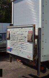 Ratcliff Palfinger 500kg Luton van electric tail lift(Removed from Transit Luton Van)