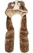 River Island Hooded Scarf