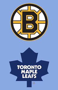 Toronto Maple Leafs vs Boston Bruins....Mar 20th...2 Nice Seats!
