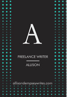 Proofreader, Editor, Freelance Writer