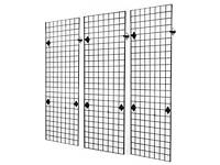 Gridwall panels and fittings 6 foot and 4 foot available
