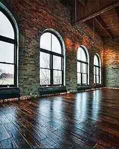 Old Loft Brick - 100 Year Old - Exposed Brick