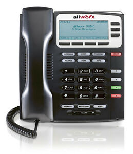 Allworx 9204 VoIP Phone - 4 Programmable Buttons like new