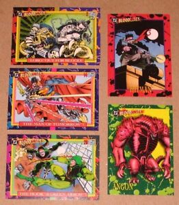 DC BLOODLINES COLLECTOR CARDS (Skybox, 1993)