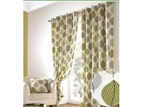 Curtains & Cushion Set (4)