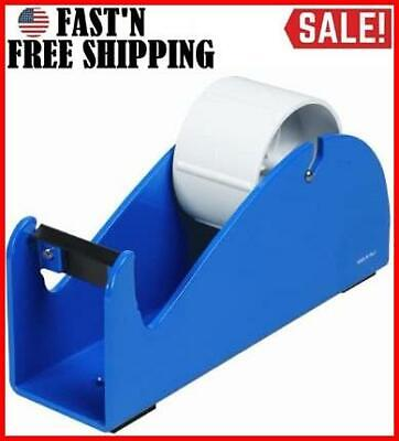2 Bench Tape Dispenser Cuts All Non Reinforced Packing Tapes Desktop Table Blue