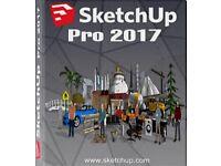 Sketchup Pro 2018/2017 PC & MAC