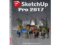 Sketchup Pro 2018/2017 Full Version, AutoCAD 2019