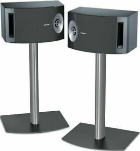 Bose Home Stereo Speakers with Bose Stands