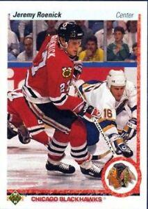 JEREMY ROENICK .. ROOKIE CARD .. 1990-91 Upper Deck hockey cards