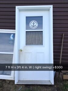 Used doors & windows for sale