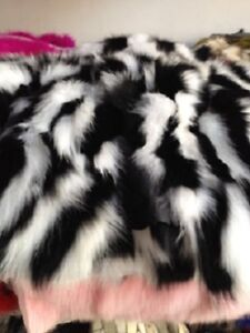 Gorgeous new real fur pelt for sale.-$40up
