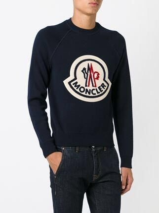 moncler black jumper