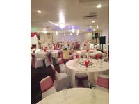Well Established Banquet hall & A3 restaurant commercial business for Sale. 270 covers. Negotiable