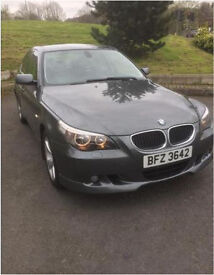 Bmw 530D 2004, Dark Metallic Grey, Full Unmarked Black Leather, Full Mot
