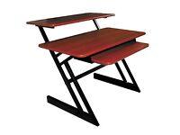 Quik Lok Z 250 Music Production Workstation Desk - Great Condition